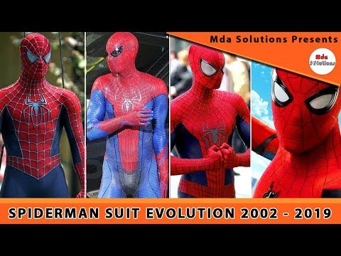 Spider Man Suit Evolution ( 2002 - 2019 ) #EvolutionsEpisode1 🔥🔥🔥