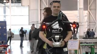 ВЫСТАВКА ХОББИ-ЭКСПО 2015  DJI Inspire 1 - квадрокоптер c 4K видеокамерой
