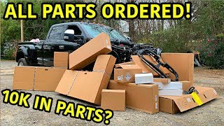 Download Rebuilding A Wrecked 2019 Ford F-450 Platinum Part 4 Mp3 and Videos