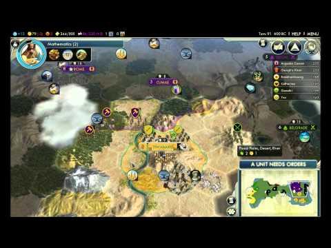 Let's Play Civilization 5 - Inca part 2 (3 of 3) - Multi-tasking  
