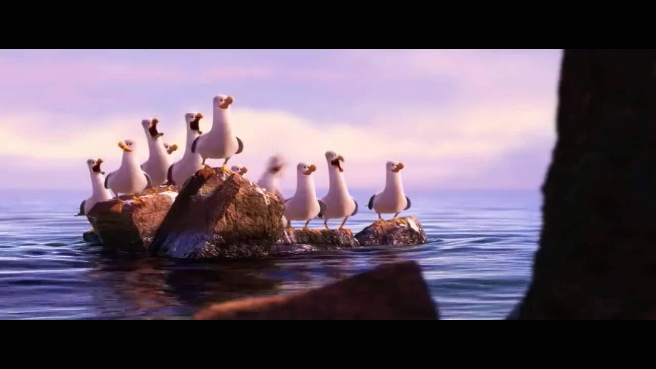 finding nemo clip seagulls mine mine mine youtube