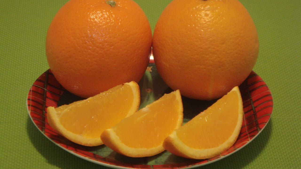 Navel Orange: How to Eat Orange Fruit - YouTube