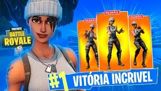 A GANG SEM SKIN! FORTNITE Battle Royale ft Playhard, Gelli Clash e DidiGPX