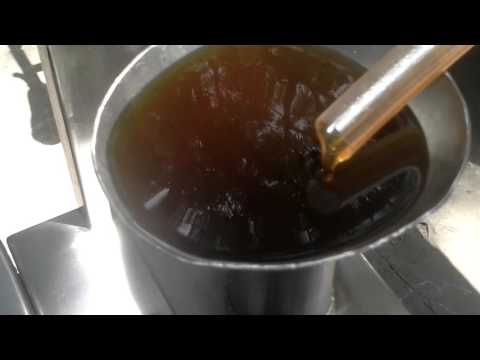 The Used Oil Recycling machine --