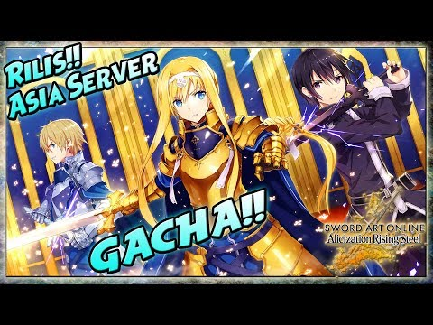 uda-rilis!-asia-server!-gacha-ter-hoki!-gameplay!---swort-art-online-alicization-rising-steel