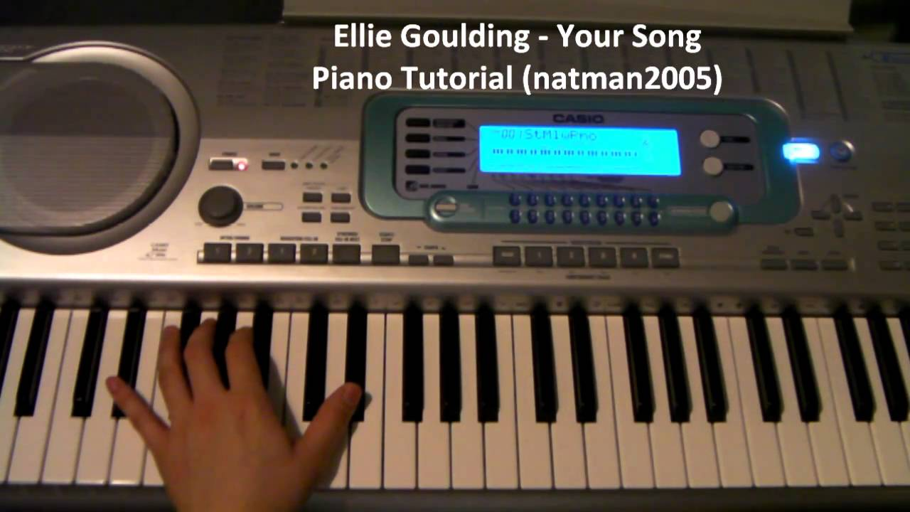 How to play your song by ellie goulding on piano and guitar how to play your song by ellie goulding on piano and guitar tutorial lesson with chords youtube hexwebz Image collections