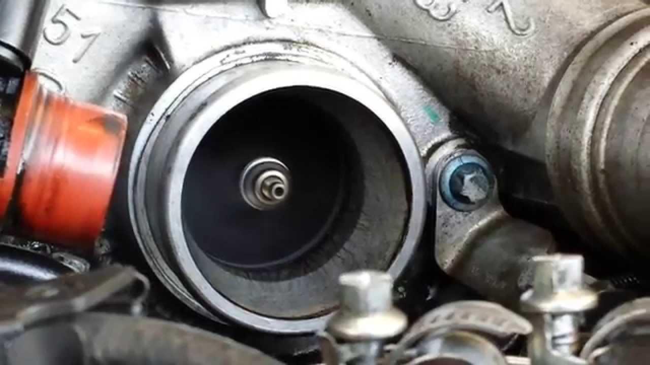 Mercedes Benz E320 CDI Turbo Spin Check - YouTube