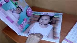 Fotolibro de cumpleaños infantil