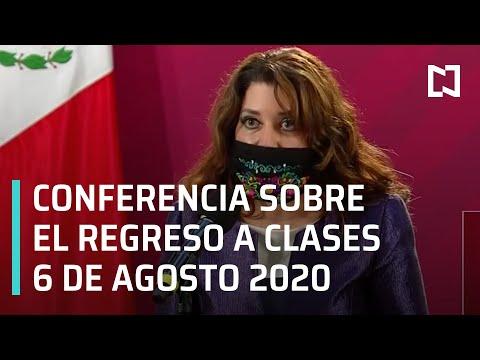 Conferencia Sobre Regreso a Clases - 6 de Agosto 2020
