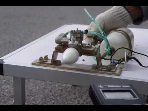 ENYA 11CX ENGINE TEST