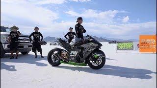 KAWASAKI H2R Test Drive 400KM/H