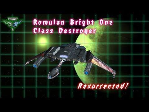 The First Romulan-Klingon Hybrid Warship - Animated & Resurrected!