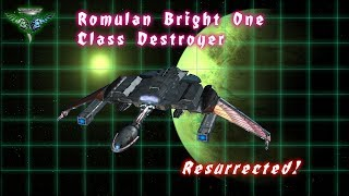Romulan Bright One Destroyer (Lost Design from FASA)