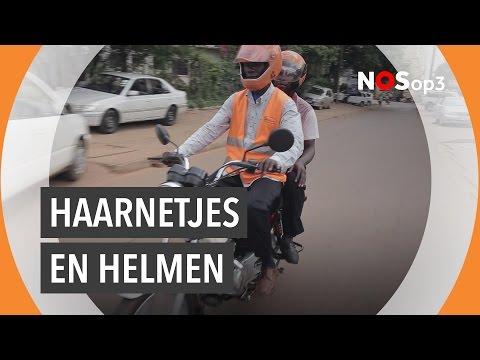 Dit zijn de veilige motortaxi's van Uganda | NOS op 3