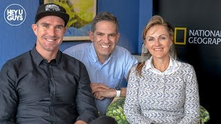 Kevin Pietersen amp Petronel Nieuwoudt on National Geographic#39s Save This Rhino