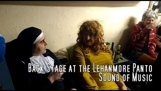 Lehanmore pantomime Sound of Music - Back Stage