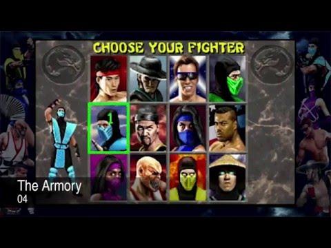 Mortal Kombat 2 Complete Arcade Soundtrack OST