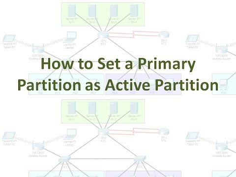 How to Set a Primary Partition as Active Partition (No Audio)