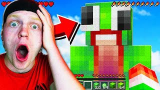 PLAYING A FAN MADE MINECRAFT POCKET EDITION MAP!