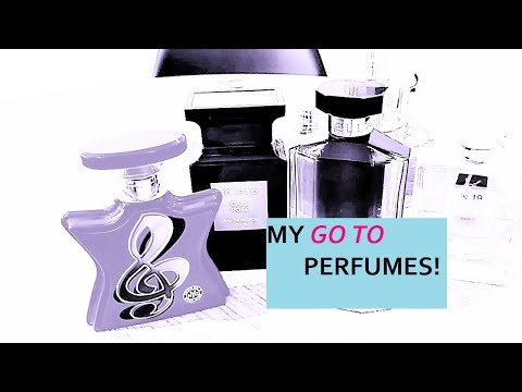 My 'GO TO' fragrances!  Perfumes I can rely on 👍