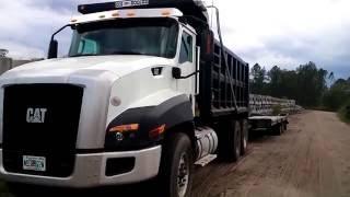 2016 Cat CT660 Dump Truck