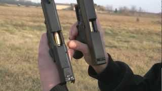 Dual Wielding Glock 20SF and HK USP Tactical 10mm vs. .40 vs. .45