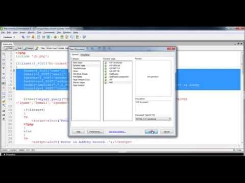 PHP CRUD with Mysql