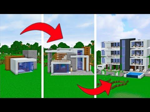 Простой | Средний | Эксперт - Майнкрафт модерн дом для выживания - #2 Версия 1.14
