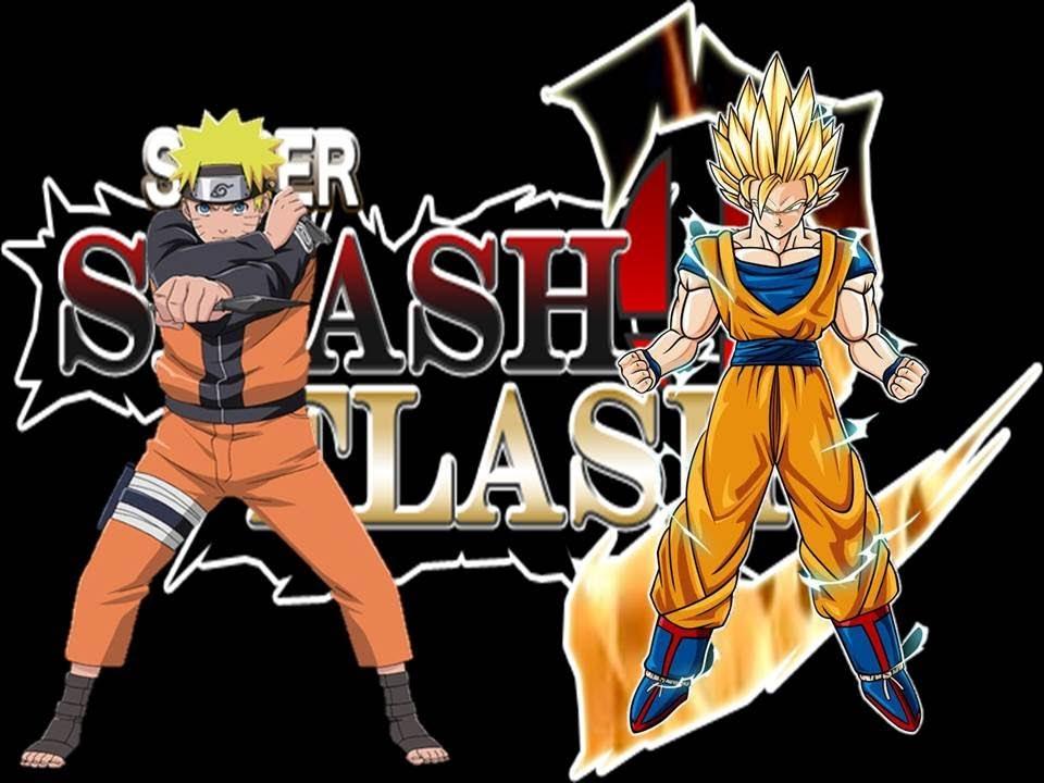 Super smash flash 2 v0 9 naruto vs goku youtube