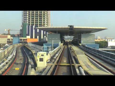 MALAYSIA AUTOMATED METRO LINE 9 KUALA LAMPUR FEB 2018