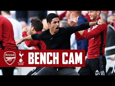 BENCH CAM | North London derby delight! | Arsenal vs Tottenham Hotspur (3-1) | Premier League