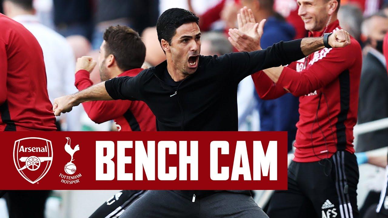 Download BENCH CAM   North London derby delight!   Arsenal vs Tottenham Hotspur (3-1)   Premier League