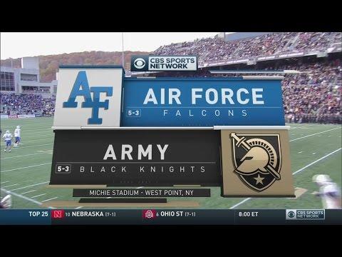 NCAAF 2016 / Week 10 / 05.11.2016 / Air Force Falcons @ Army Black Knights / 720pier