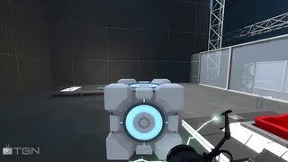 ★ Portal 2 - Gameplay Livestreaming Co-op, ft.Indie! - TGN