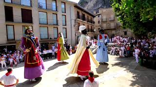Gigantes de Estella-Lizarrako Erraldoiak. Fiestas.