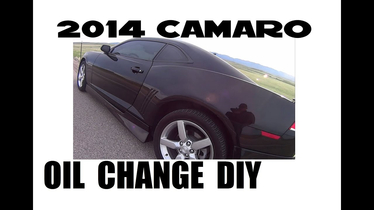 Camaro Oil Level Diagram Wiring Schematics 2010 Ss Engine Diy Change On A 2014 Chevrolet V6 5th Generation Youtube