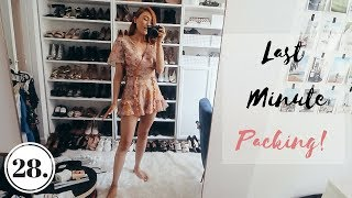 WHERE TO NEXT? | Last Minute Packing | Vlog 28