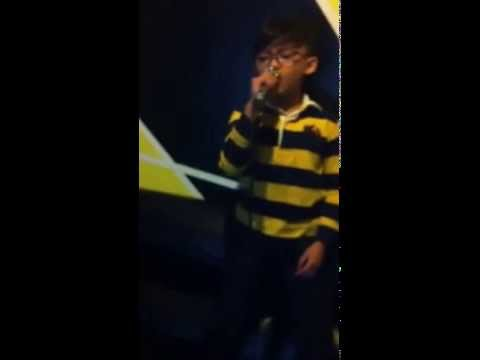 Titanium sing by Ahmad Zaki Yamani 8 Years Old