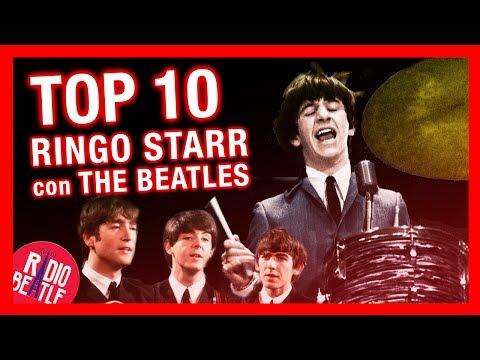 TOP 10 Canciones de RINGO STARR Con THE BEATLES | Radio-Beatle