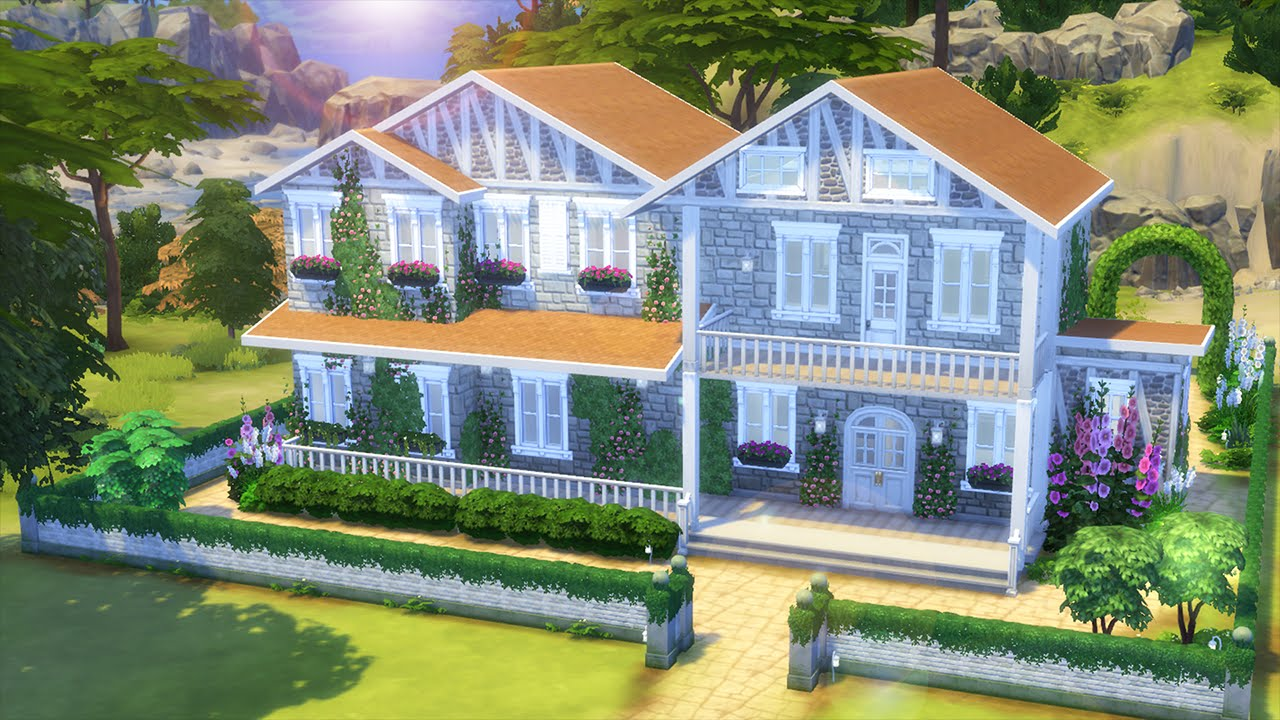 The sims 4 house building new legacy house build for Legacy house