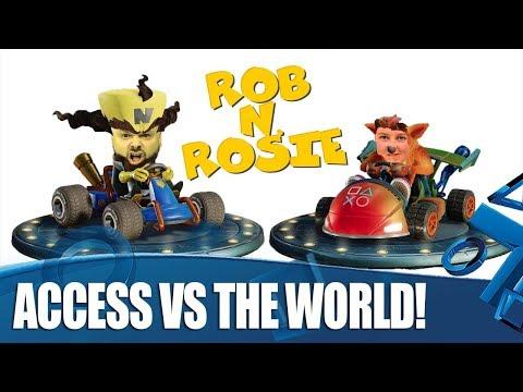 Crash Team Racing: Nitro-Fueled - Rob u0027Nu0027 Rosie Vs The World!