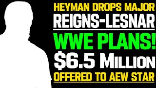 WWE News Heyman DROPS BIG WWE Plans AEW Wrestler Misused Stupid WWE Plans For Adam Cole AEW News