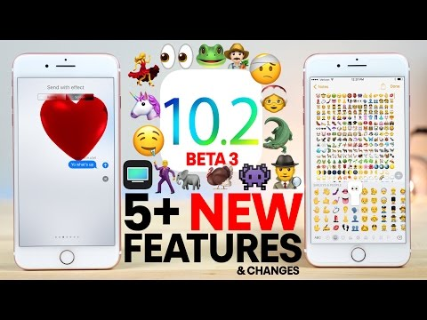 iOS 10.2 Beta 3 - 5+ New Features Review!