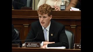 Congressman Kennedy questions witnesses at Energy & Commerce Planned Parenthood hearing