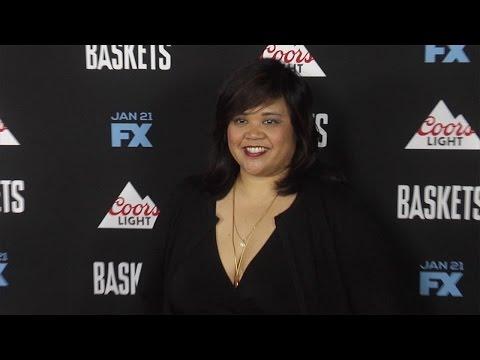 Ellen D. Williams FX's Baskets Premiere Red Carpet