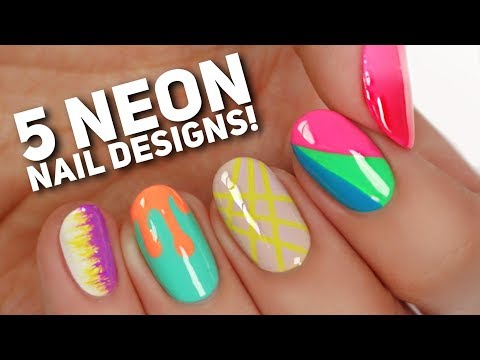 5 Ways To Wear Neon Nails