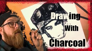 Drawing with Charcoal: Face of GRIT.