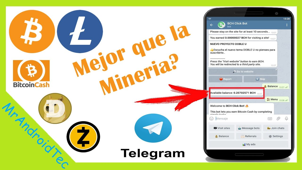Grup public Telegram bot BTC ETH BCH | Facebook