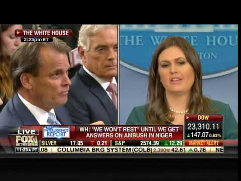 """Ouch! Sarah Huckabee Sanders on Frederica Wilson: """"All Hat and No Cattle"""""""