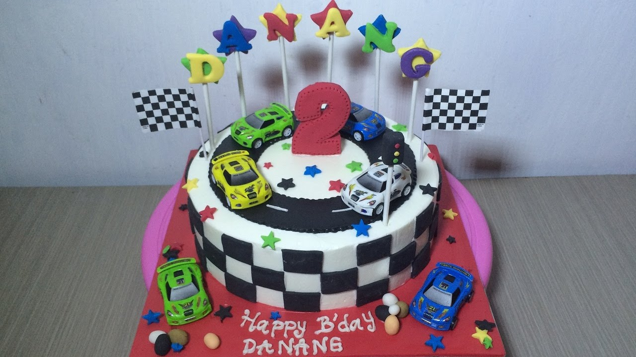 Car Birthday Cake Images